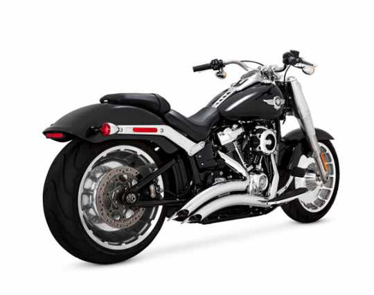Vance & Hines Big Radius 2-Into-2 chrom