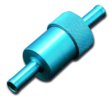 """Russell Russell Kraftstofffilter 1/4"""" blau  - 18-246"""