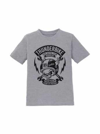 Thunderbike Clothing Thunderbike Kids T-Shirt Boneracer grey  - 19-01-1153V