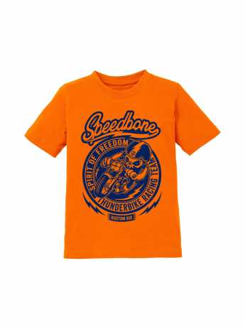 Thunderbike Kids T-Shirt Speedbone Orange
