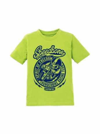 Thunderbike Clothing Thunderbike Kids T-Shirt Speedbone Lime  - 19-01-1164V