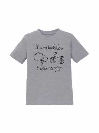 Thunderbike Clothing Thunderbike Kids T-Shirt Grau  - 19-01-1193V