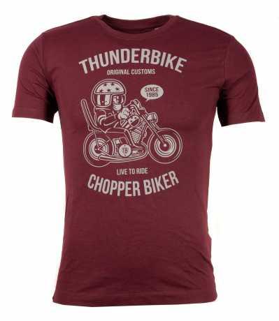 Thunderbike Clothing Thunderbike Kids T-Shirt Chopper Biker red  - 19-01-1347V