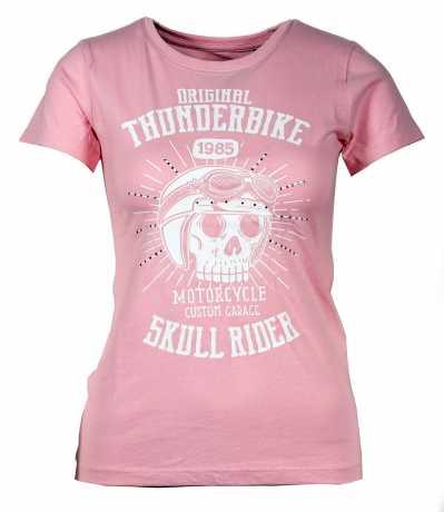 Thunderbike Clothing Thunderbike Kinder T-Shirt Skull Rider rosa  - 19-01-13510V