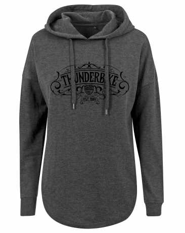 Thunderbike Clothing Thunderbike women´s Hoodie Original grey XS - 19-10-1223/002S