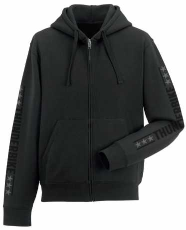 Thunderbike Clothing Thunderbike Zip Hoodie  Vintage Custom, black M - 19-20-1001/000M