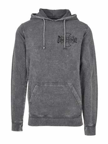 Thunderbike Clothing Thunderbike Hoodie Vintage Cross Grau  - 19-30-1133V