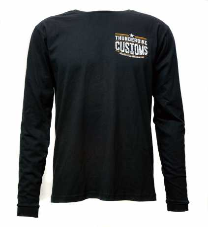Thunderbike Clothing Thunderbike Longsleeve Customs schwarz  - 19-30-1211V