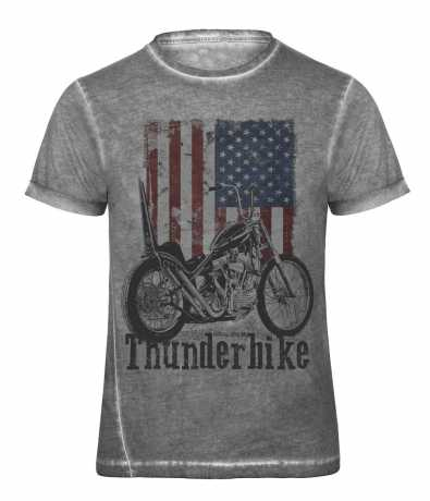 Thunderbike Clothing Thunderbike T-Shirt US Flag, grau  - 19-31-1043V