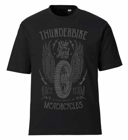 Thunderbike Clothing Thunderbike T-Shirt Race Team, black XL - 19-31-1051/002L