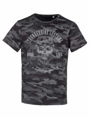 Thunderbike Clothing Thunderbike T-Shirt Bearded Skull black/grey 3XL - 19-31-1106/222L