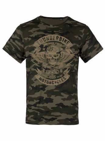 Thunderbike Clothing Thunderbike T-Shirt Speed Skull Olive 3XL - 19-31-1116/222L