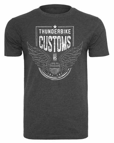 Thunderbike Clothing Thunderbike T-Shirt Customs grau XL - 19-31-1213/002L