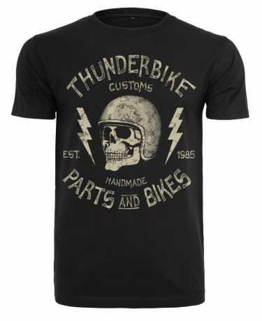 Thunderbike Clothing Thunderbike men´s T-Shirt Helmet Skull black  - 19-31-1301V