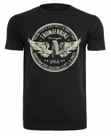 Thunderbike Clothing Thunderbike men´s T-Shirt Vintage Wheel black L - 19-31-1311/000L