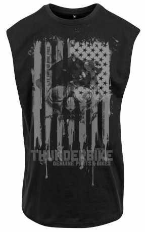 Thunderbike Clothing Thunderbike Muscle Shirt US-Skull schwarz  - 19-31-1401V