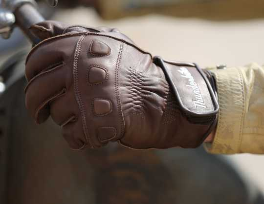 Thunderbike Clothing Thunderbike Gloves Cooper, brown  - 19-70-060V