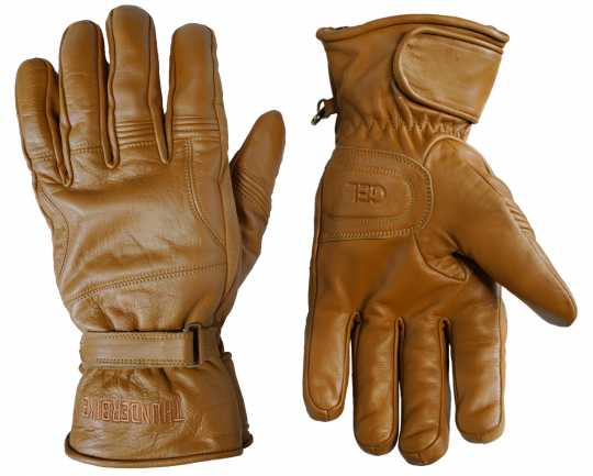 Thunderbike Clothing Thunderbike Midway Winter Gloves camel brown  - 19-70-120V