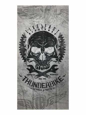 Thunderbike Clothing Thunderbike Tube Death's Head grau  - 19-90-1073
