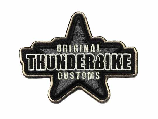 Thunderbike Clothing Thunderbike Aufnäher Custom Star  - 19-99-050