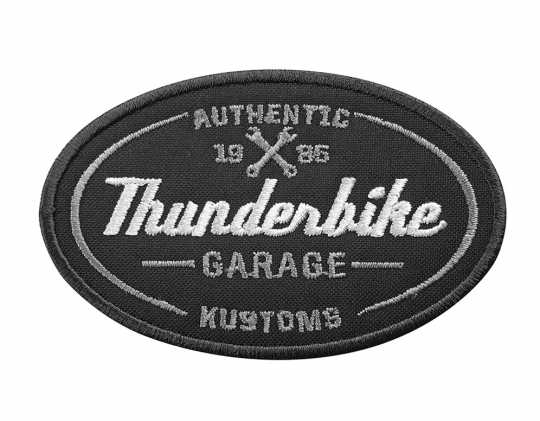 Thunderbike Clothing Thunderbike Aufnäher Authentic Garage  - 19-99-070