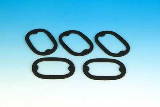 Custom Chrome Lens Gasket Taillight 68122-55  - 19-481