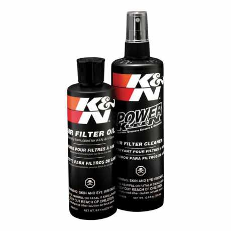 K&N K&N Filter Oil and Cleaner Set with squeeze bottle  - 21-99-180