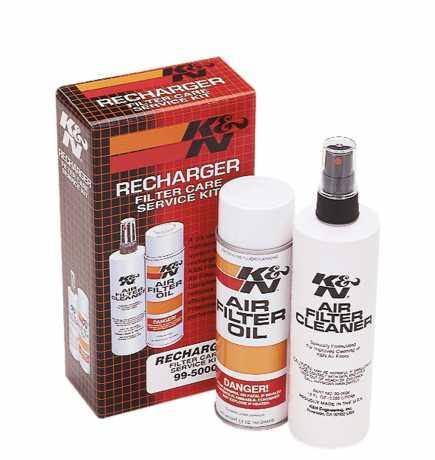 Thunderbike K&N Luftfilter Öl & Reiniger-Set  - 21-99-180