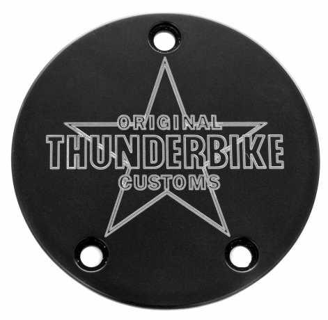 Thunderbike Zündungsdeckel TB Bicolor eloxiert  - 22-72-170