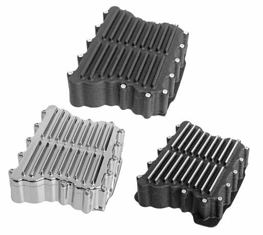 Thunderbike Rocker-Box- Set Ribbed alu  - 22-72-420V
