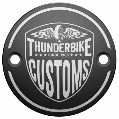 Thunderbike Timer Cover New Custom  - 22-74-020