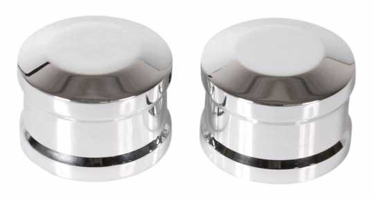 Thunderbike Rear Axle Cover Set polished - 22-74-100