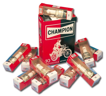Champion Spark Plug Copper Plus J12YC