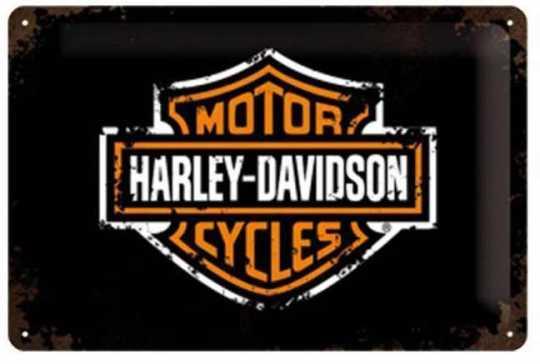 H-D Motorclothes Harley-Davidson Metal shield H-D Paint Logo  - 22138