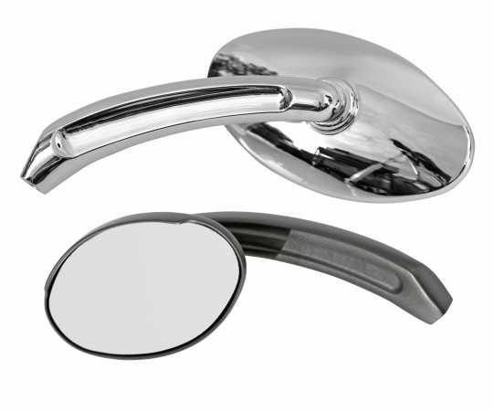 Thunderbike Spiegel Billet Oval  - 23-99-061V