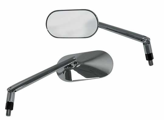 Shin Yo Mirrors Agila Oval chrome