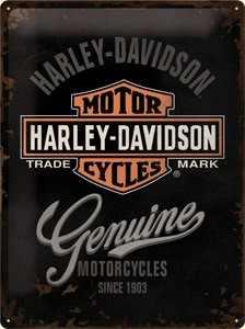 H-D Motorclothes Harley-Davidson Metal shield H-D Genuine Logo  - 23125