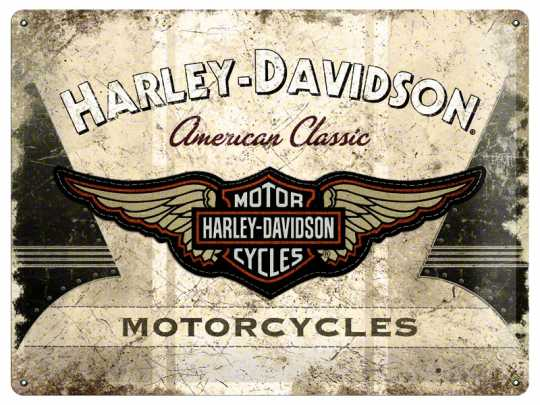 H-D Motorclothes Harley-Davidson Blechschild American Classic  - 23144