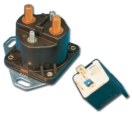 Standard Motorcycle Products Starter Relay  - 25-004