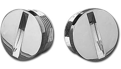 Custom Chrome Screw Primary Cs Inspec Holes  - 25-0750