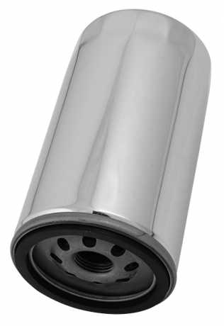 Motor Factory Motor Factory Oil Filter extra long, chrome  - 25-221