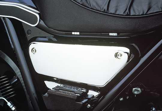 Custom Chrome Sidecover Kit chrome  - 25-263