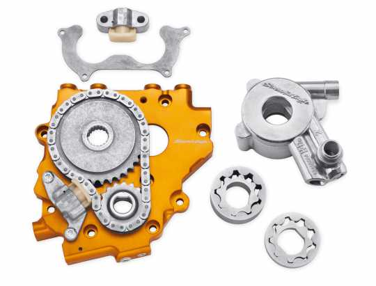 Harley-Davidson Screamin' Eagle Hydraulic Cam Chain Tensioner and High-Flow Oil Pump Upgrade Kit  - 25284-11