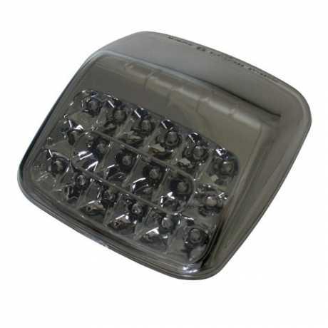 Thunderbike LED-Rücklicht mit getöntem Glas und Chromreflektor  - 253-371
