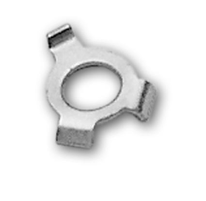 Custom Chrome Shifter Cam Bolt  (10)  - 25-407