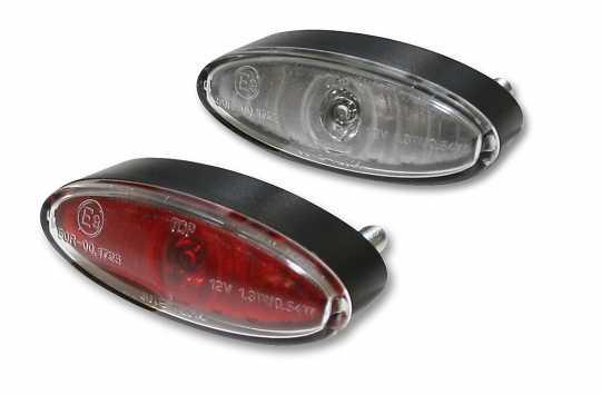 Thunderbike LED Rücklicht Mini-Oval  - 255-046V
