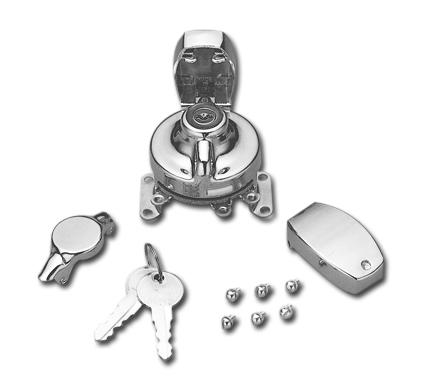 Custom Chrome Mechanisches Zündschloss & Schalter  - 25-535