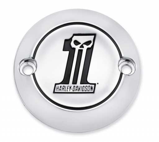 Harley-Davidson Timer Cover Number One Skull  - 25600065