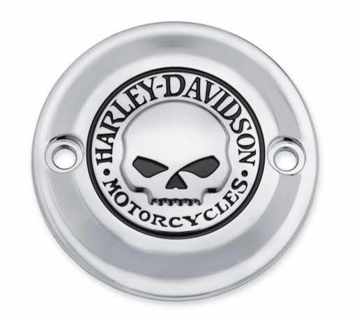 Harley-Davidson Timer Cover Willie G. Skull  - 25600066