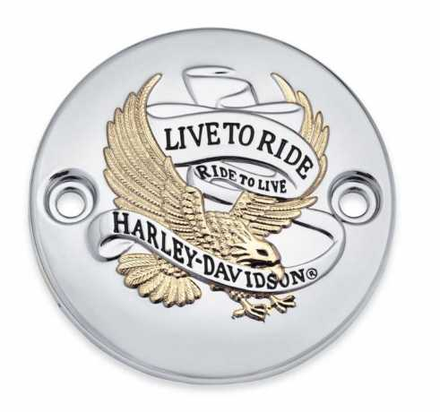 Harley-Davidson Timer Cover Live To Ride  - 25600067